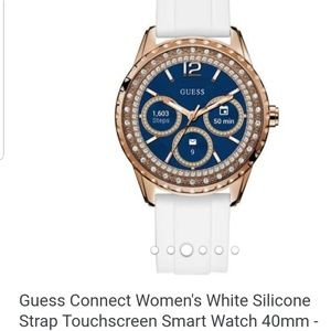 Guess Rose Gold Smartwatch